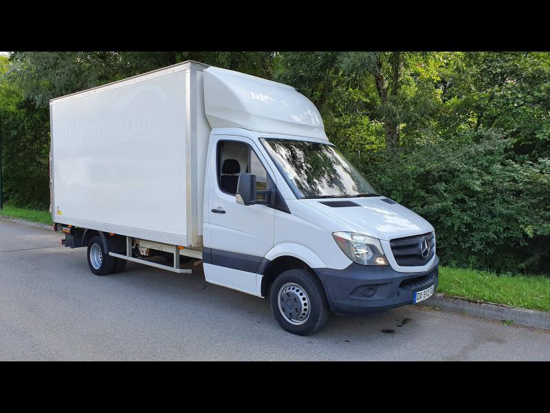 Mercedes Sprinter 513 CDI 43 3T5 Caisse 20m3 + hayon Blanc occasion à Gières