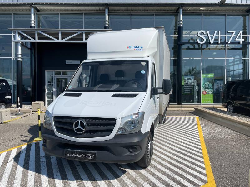 Mercedes Sprinter 514 CDI 43 3T5 Caisse + Hayon Blanc occasion à Gières - photo n°2