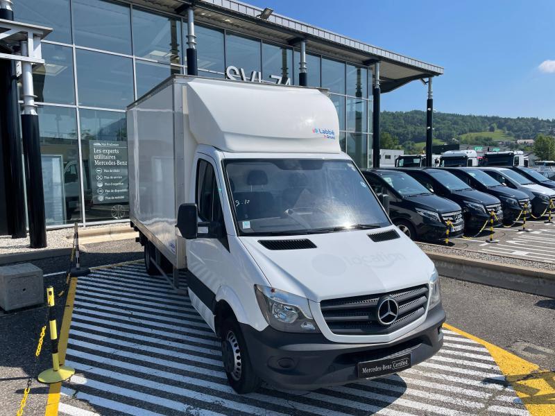Mercedes Sprinter 514 CDI 43 3T5 Caisse + Hayon Blanc occasion à Gières