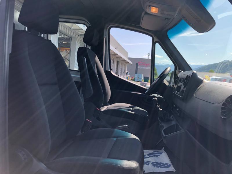 Mercedes Sprinter 514 CDI 43 Double Cabine 3T5 Propulsion Blanc occasion à Gières - photo n°8