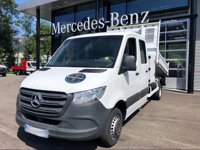 Mercedes Sprinter 514 CDI 43 Double Cabine 3T5 Propulsion Blanc occasion à Gières