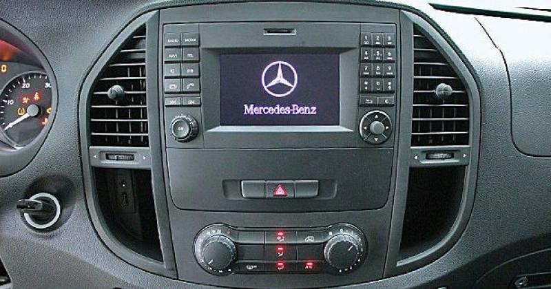 Mercedes Vito 111 CDI MIXTO LONG Blanc occasion à Quimper - photo n°5