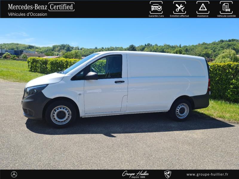 Mercedes Vito 114 CDI Mixto Long E6 Propulsion Blanc occasion à Gières - photo n°3