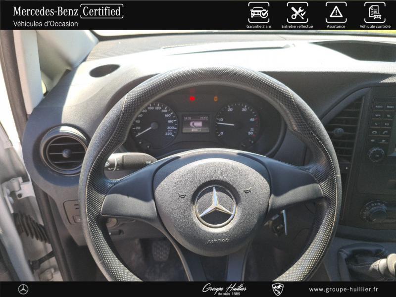 Mercedes Vito 114 CDI Mixto Long E6 Propulsion Blanc occasion à Gières - photo n°9