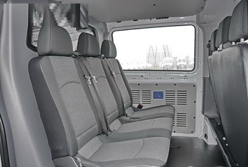 Mercedes Vito 116 CDI MIXTO LONG SELECT Blanc occasion à Quimper - photo n°5