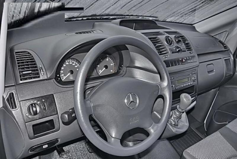 Mercedes Vito 116 CDI MIXTO LONG SELECT Blanc occasion à Quimper - photo n°4