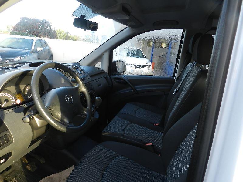 Mercedes Vito 116 CDI MIXTO LONG Blanc occasion à Quimper - photo n°6