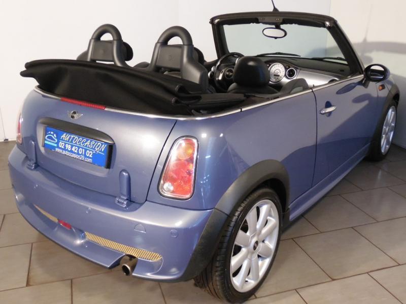 Mini Cabrio 1.6 Bleu occasion à Brest - photo n°2