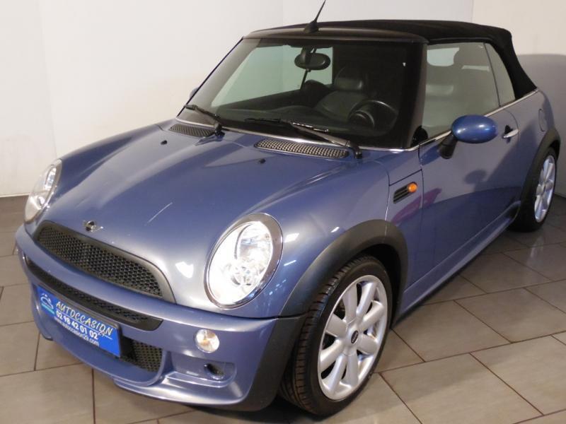 Mini Cabrio 1.6 Bleu occasion à Brest