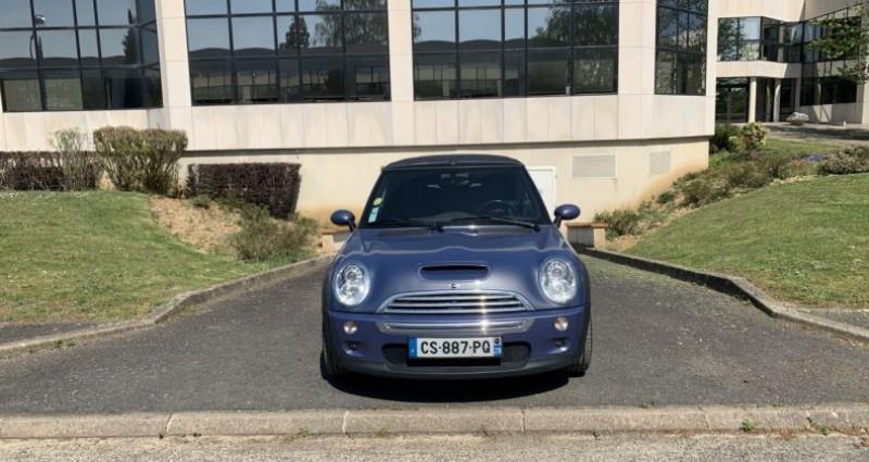 Mini Cabrio Cooper S Bleu occasion à Toussus-le-noble - photo n°2
