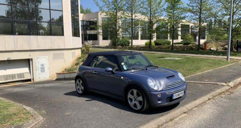 Mini Cabrio Cooper S Bleu occasion à Toussus-le-noble
