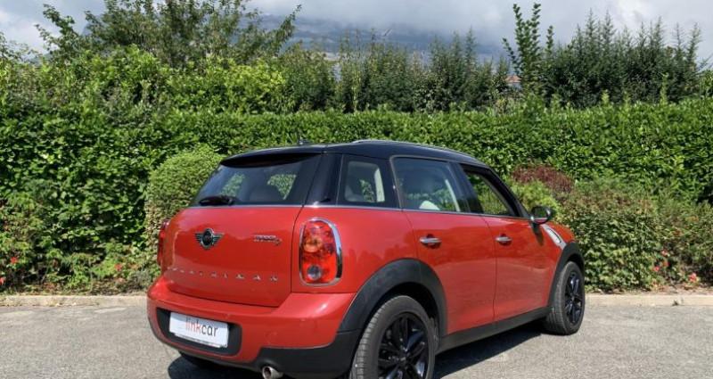 Mini Countryman 2.0 D 112 BVA Pack Chili LCI Ph2 Rouge occasion à Meylan - photo n°3
