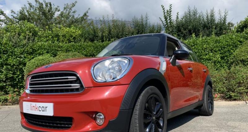 Mini Countryman 2.0 D 112 BVA Pack Chili LCI Ph2 Rouge occasion à Meylan - photo n°7