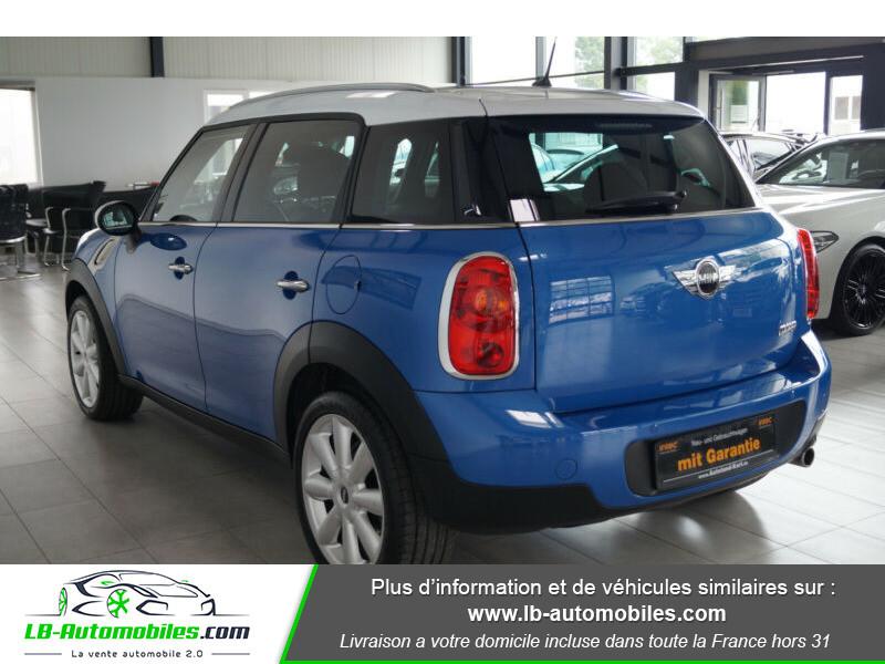 Mini Countryman Cooper 122ch essence 1.6 Bleu occasion à Beaupuy - photo n°14
