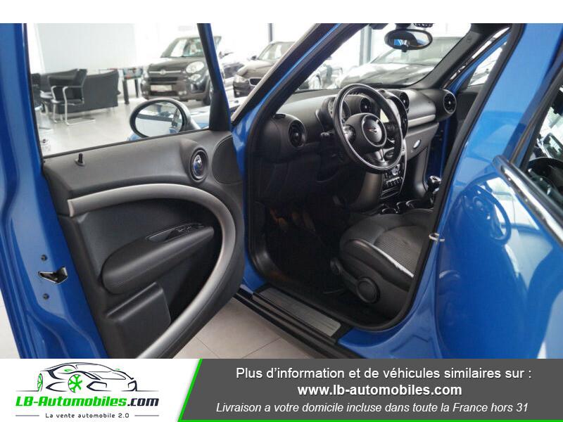 Mini Countryman Cooper 122ch essence 1.6 Bleu occasion à Beaupuy - photo n°7