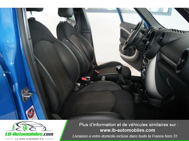 Mini Countryman Cooper 122ch essence 1.6 Bleu occasion à Beaupuy - photo n°11
