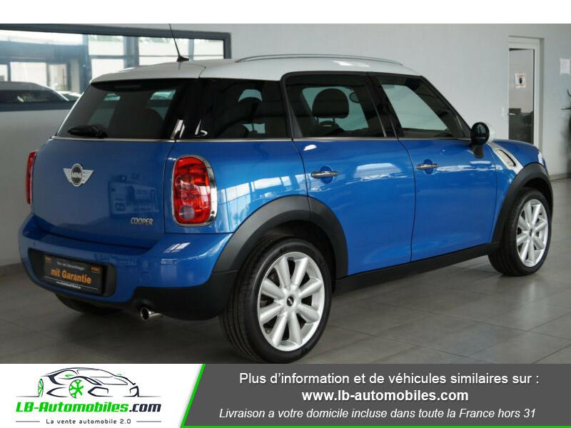 Mini Countryman Cooper 122ch essence 1.6 Bleu occasion à Beaupuy - photo n°13