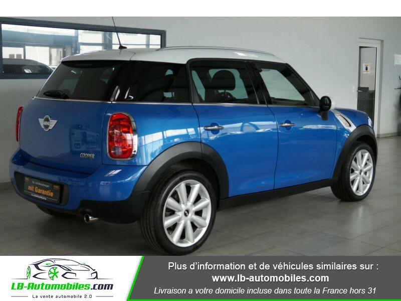 Mini Countryman Cooper 122ch essence 1.6 Bleu occasion à Beaupuy - photo n°3