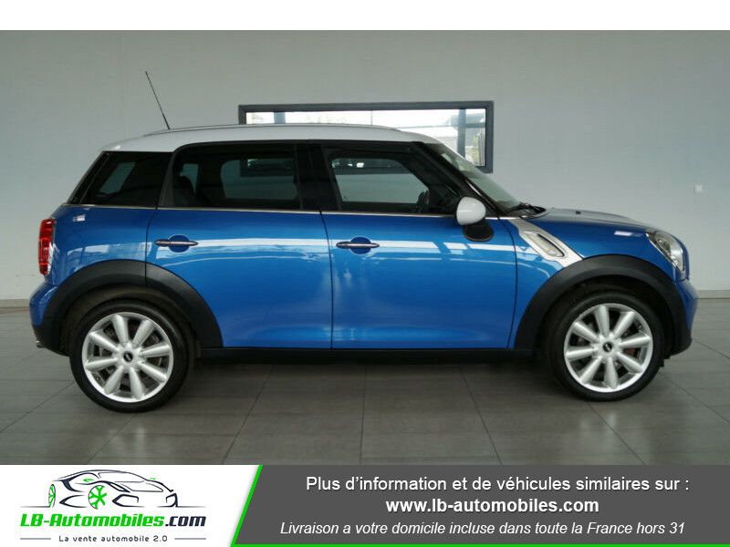 Mini Countryman Cooper 122ch essence 1.6 Bleu occasion à Beaupuy - photo n°15