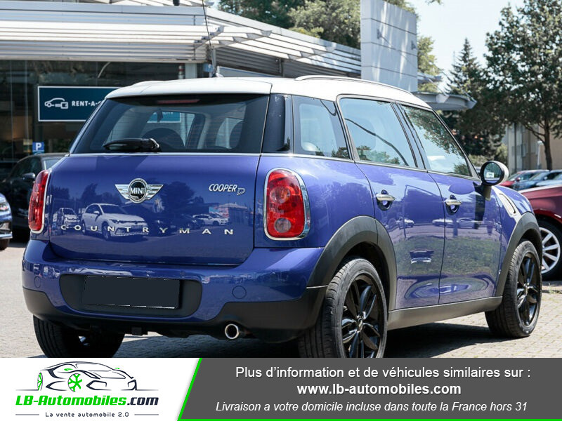 Mini Countryman Cooper D 112 ch Bleu occasion à Beaupuy - photo n°3
