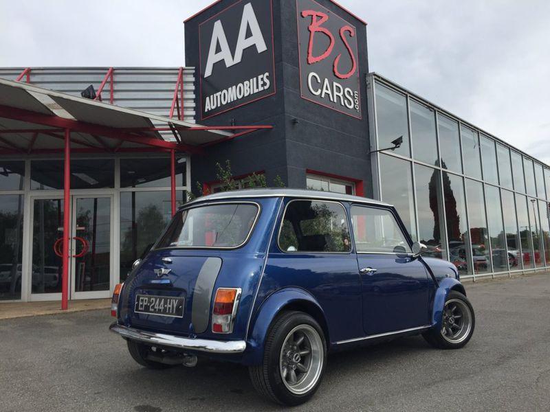 Mini Mini cooper  Bleu occasion à Castelmaurou - photo n°2