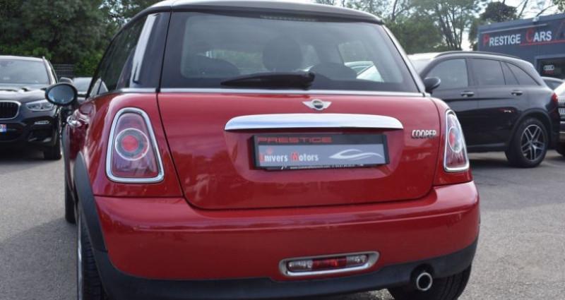 Mini Mini cooper 122CH Rouge occasion à VENDARGUES - photo n°3