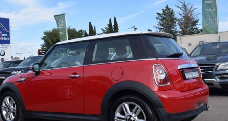 Mini Mini cooper 122CH Rouge occasion à VENDARGUES - photo n°5