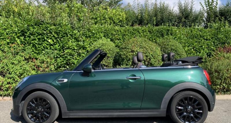 Mini Mini cooper pack Chili Cabriolet 1.5i 136 BVA F57 Vert occasion à Meylan - photo n°3