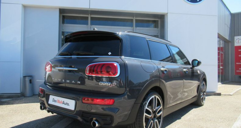 Mini Mini one CLUBMAN F54 Clubman Cooper SD 190 ch ALL4 Finition John Coop Gris occasion à Bourgogne - photo n°5