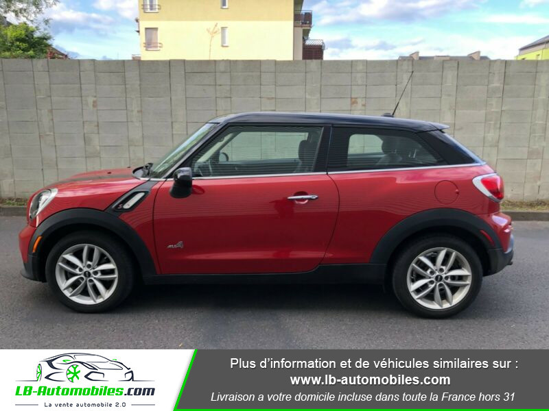 Mini Paceman Cooper S 184 ch ALL4 Rouge occasion à Beaupuy - photo n°8