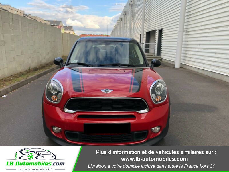 Mini Paceman Cooper S 184 ch ALL4 Rouge occasion à Beaupuy - photo n°7