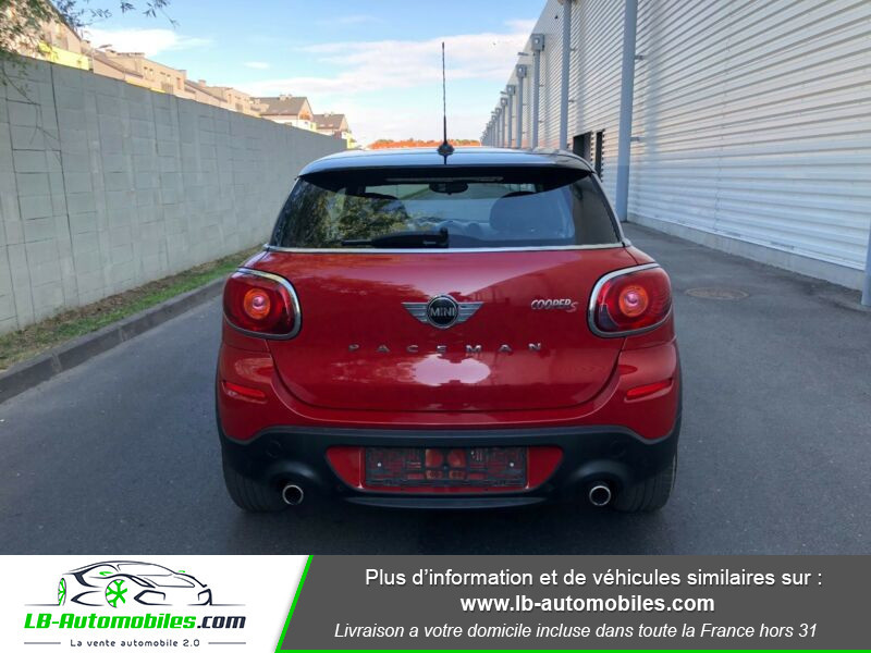 Mini Paceman Cooper S 184 ch ALL4 Rouge occasion à Beaupuy - photo n°9