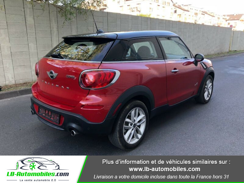 Mini Paceman Cooper S 184 ch ALL4 Rouge occasion à Beaupuy - photo n°3