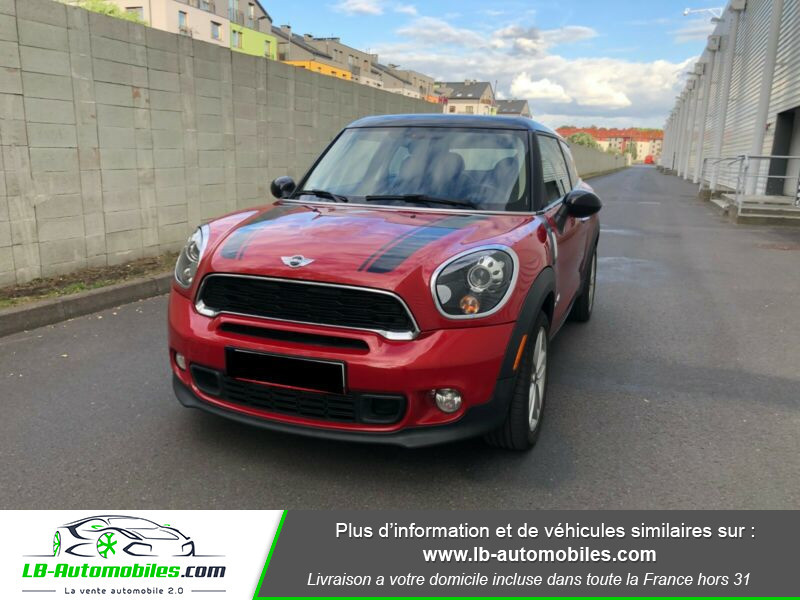 Mini Paceman Cooper S 184 ch ALL4 Rouge occasion à Beaupuy