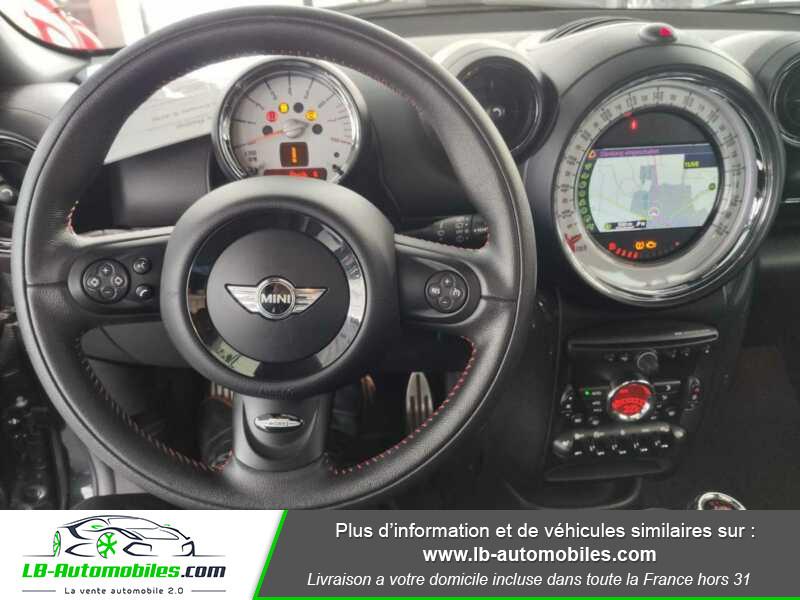 Mini Paceman Cooper S 184 ch Noir occasion à Beaupuy - photo n°2