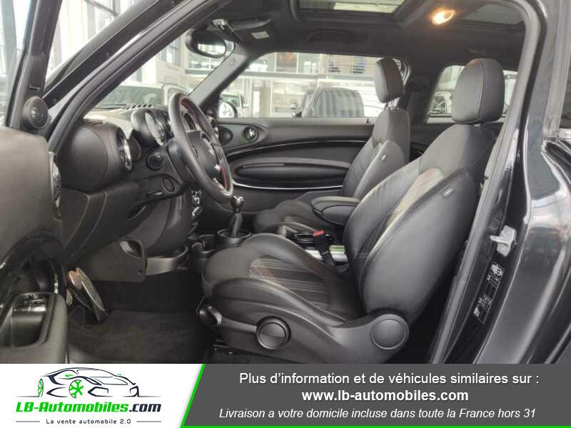 Mini Paceman Cooper S 184 ch Noir occasion à Beaupuy - photo n°4