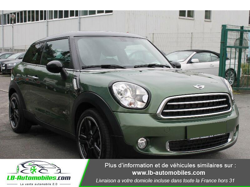 Mini Paceman Cooper SD 143 ch ALL4 Vert occasion à Beaupuy