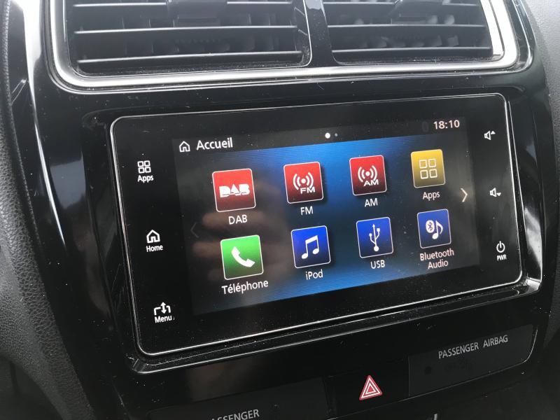 Mitsubishi ASX 1.6 DI-D 115ch Black Collection 2WD 2018 Noir occasion à Mérignac - photo n°18