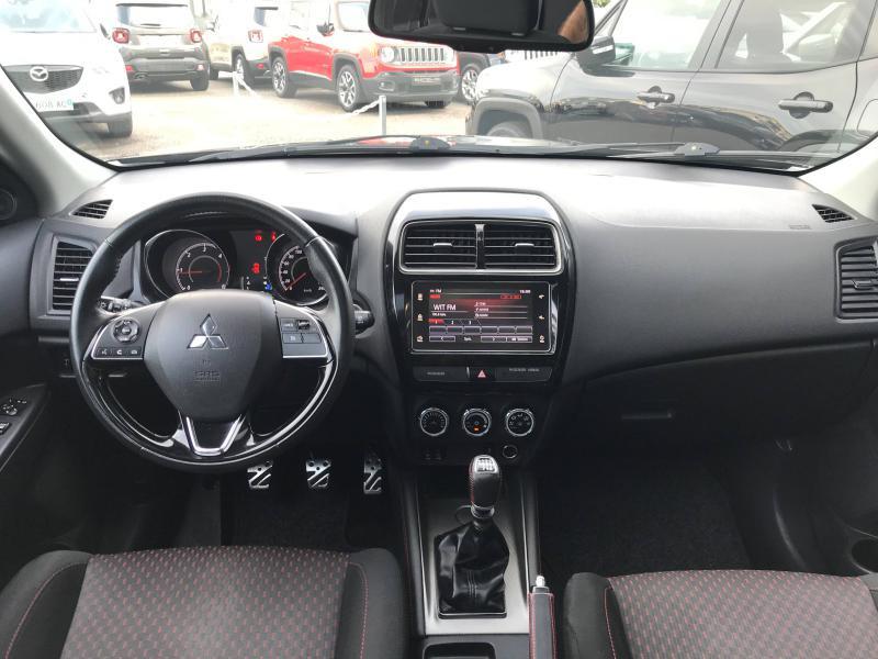 Mitsubishi ASX 1.6 DI-D 115ch Black Collection 2WD 2018 Noir occasion à Mérignac - photo n°2