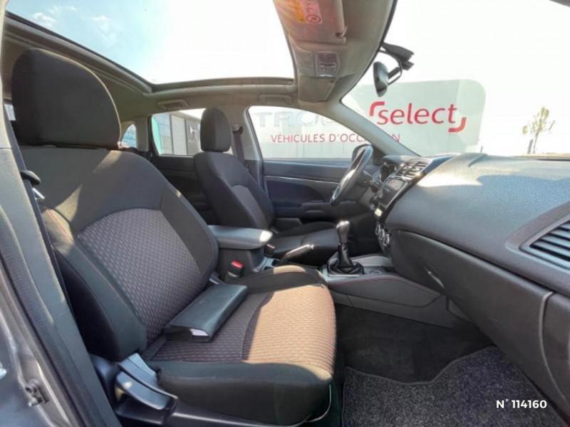 Mitsubishi ASX 1.6 MIVEC 115ch Black Collection 2WD 2018 Gris occasion à Mareuil-lès-Meaux - photo n°10