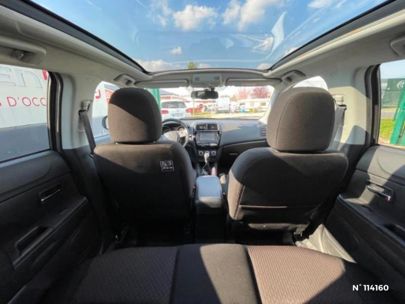 Mitsubishi ASX 1.6 MIVEC 115ch Black Collection 2WD 2018 Gris occasion à Mareuil-lès-Meaux - photo n°8