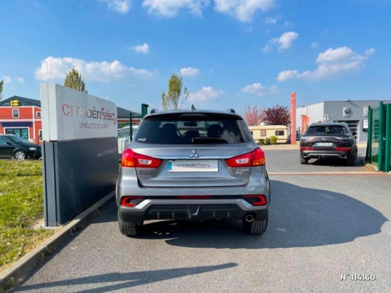 Mitsubishi ASX 1.6 MIVEC 115ch Black Collection 2WD 2018 Gris occasion à Mareuil-lès-Meaux - photo n°5