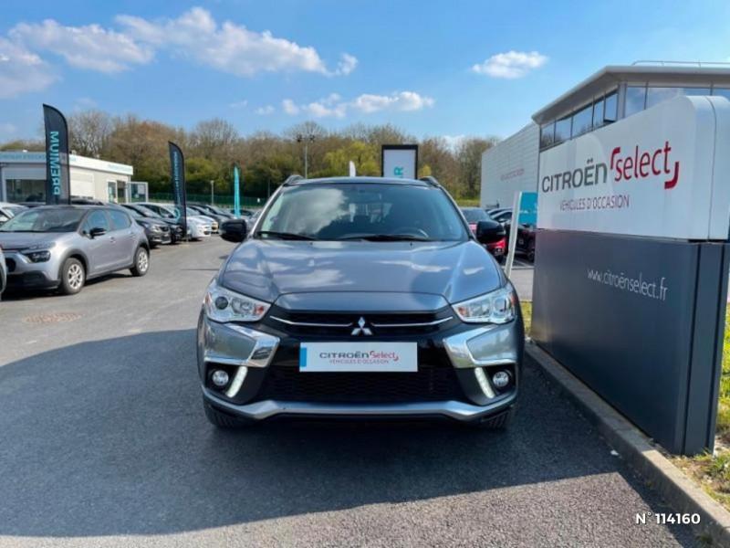 Mitsubishi ASX 1.6 MIVEC 115ch Black Collection 2WD 2018 Gris occasion à Mareuil-lès-Meaux - photo n°3