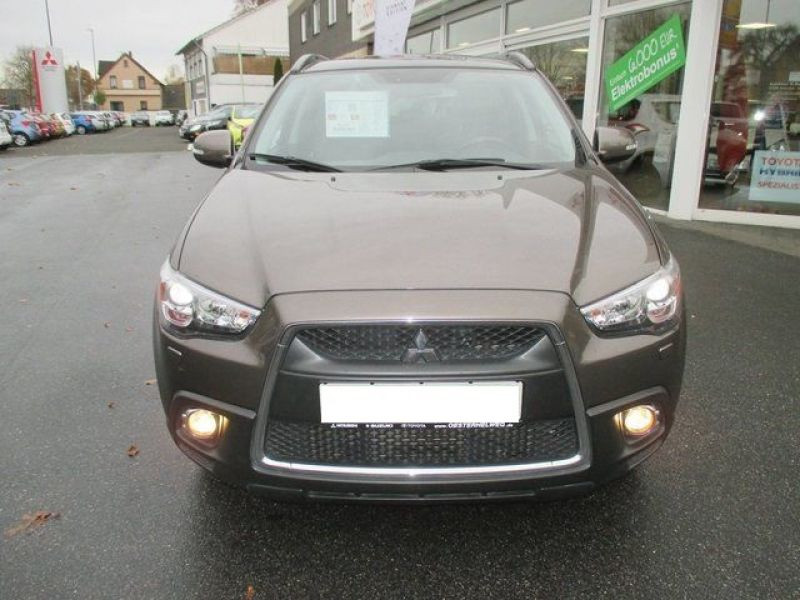 Mitsubishi ASX 1.8 D-ID 150 4WD Instyle Marron occasion à Beaupuy - photo n°2
