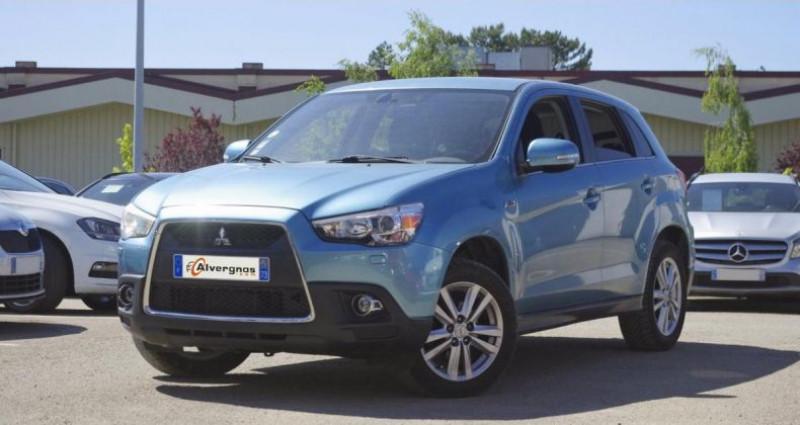 Mitsubishi ASX 1.8 DI-D 150 CLEARTEC INVITE 4WD Bleu occasion à Chambourcy