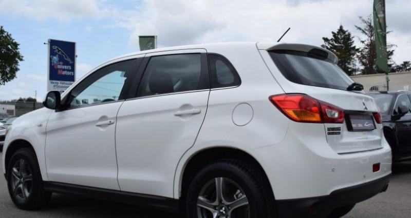 Mitsubishi ASX 1.8 DI-D 150CH INVITE 4WD Blanc occasion à VENDARGUES - photo n°6