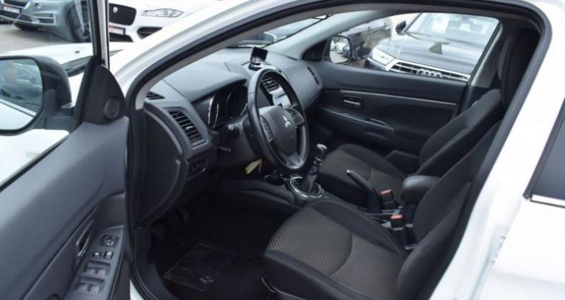 Mitsubishi ASX 1.8 DI-D 150CH INVITE 4WD Blanc occasion à VENDARGUES - photo n°7