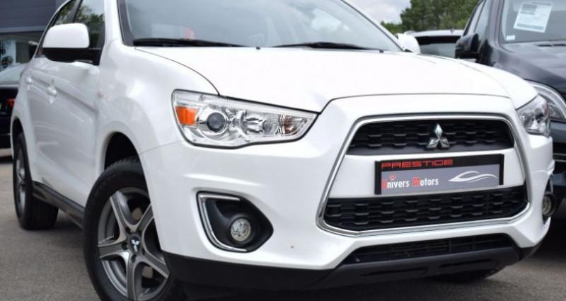 Mitsubishi ASX 1.8 DI-D 150CH INVITE 4WD Blanc occasion à VENDARGUES
