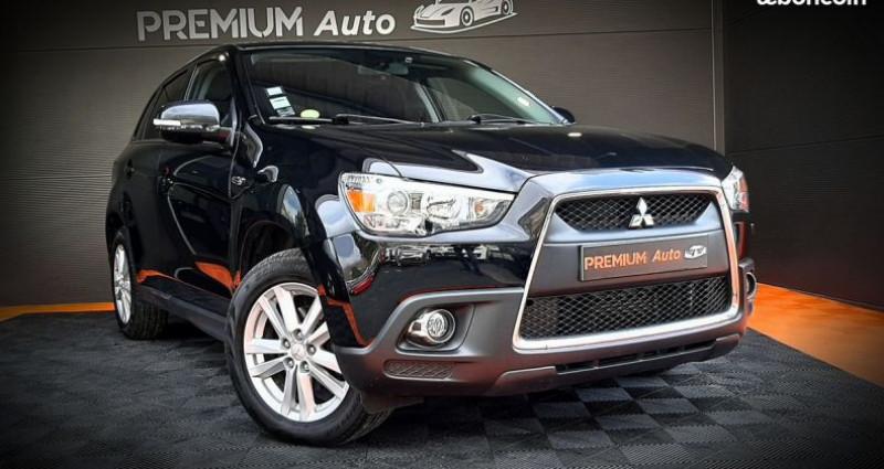 Mitsubishi ASX 1.8 DI-D Invite 4x4 150 CH ATTELAGE 4WD Noir occasion à Francin - photo n°2