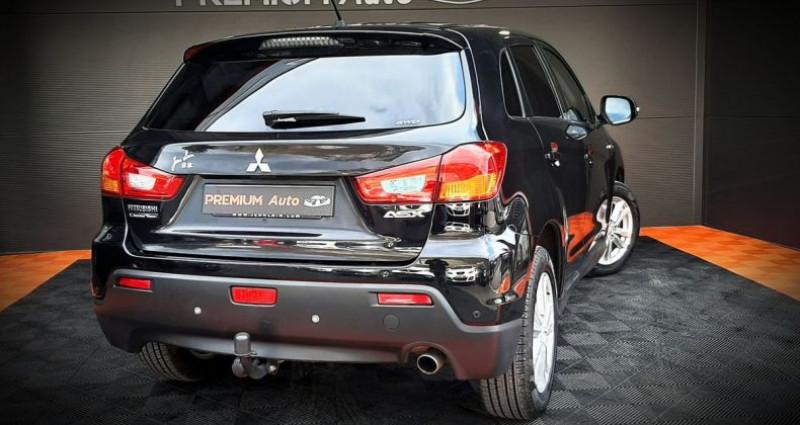 Mitsubishi ASX 1.8 DI-D Invite 4x4 150 CH ATTELAGE 4WD Noir occasion à Francin - photo n°4